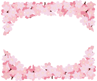 イラスト素材 桜 さくら サクラ 花門 花びら 木 ベクター