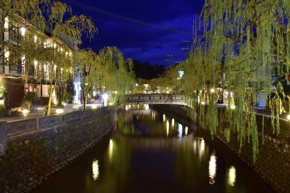 兵庫県豊岡市 城崎温泉街夜景