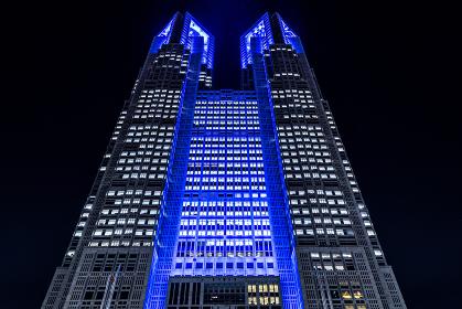 東京都庁の夜