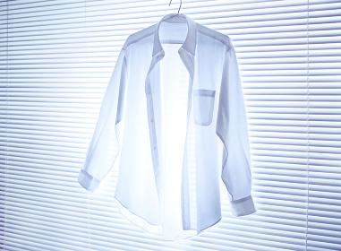 ブラインドのワイシャツ
