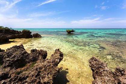 日本の国立公園・沖縄県石垣島、川平湾