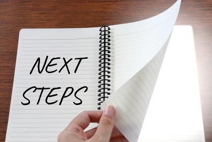 ページをめくる 6 NEXT STEPS