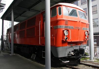 交通科学博物館(大阪市、2014年閉館)に展示されていたDDー54