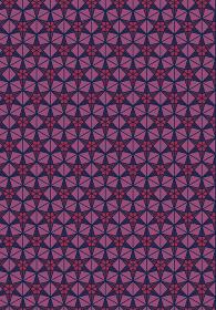 和柄のイラスト背景|日本の伝統模様 桜亀甲文様全面 縦位置赤系