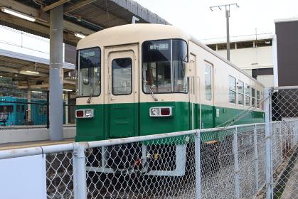 紀州鉄道KR301の車内
