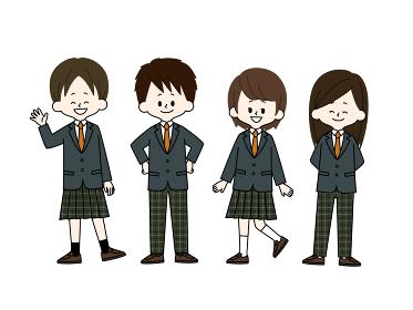 学生服の自由選択