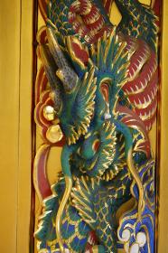 上野東照宮 唐門 龍の彫刻