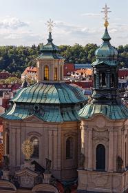 聖ミクラージュ教会の塔 プラハ