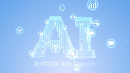 Ai 人工知能 テクノロジー アイコン ネットワーク シンボル インターネット 3D イラスト