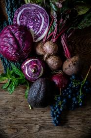 オーガニック野菜の組み合わせ