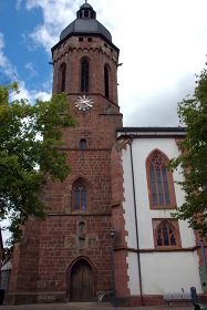 sankt georg kandel,largest late-gothic church of the palatinate