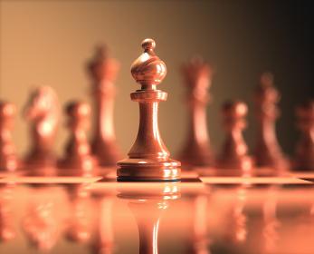 Bishop Chess Game Board