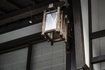 長野県塩尻市 旧宿場町 奈良井宿の風景