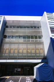 東京ハートセンター 病院 (公道から外観を撮影しています)