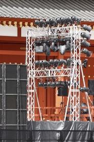 イベントの照明器具