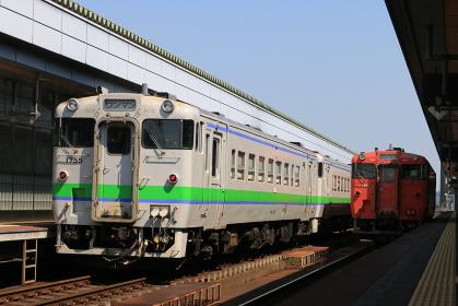 根室本線帯広駅キハ40系