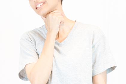 喉の不調(病気・乾燥・咳・女性)