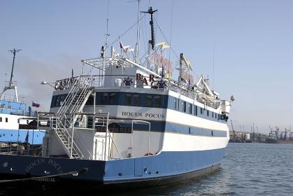 ウラジオストックの船