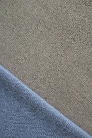 ブルーとグレーのニットで作る背景 8 縦位置