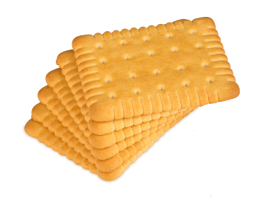 stack of butter biscuits