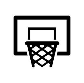バスケットボール ゴール スポーツ アイコン