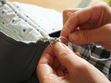 裁縫 ボタン付け 2