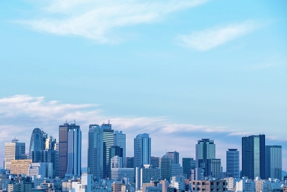 東京都 新宿副都心高層ビル群
