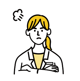 医師 医者 女性 ポップ 怒っている 医療 表情