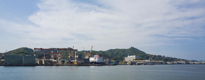 長崎港展望