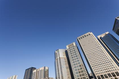 品川駅前の高層ビル群