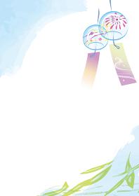 夏の風鈴のイメージイラスト