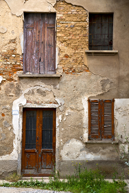 brown  europe  italy  lombardy        in  the milano old   window closed brick      abstract    door terrace