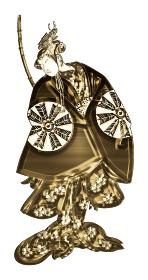 浮世絵 歌舞伎役者 その33 金バージョン