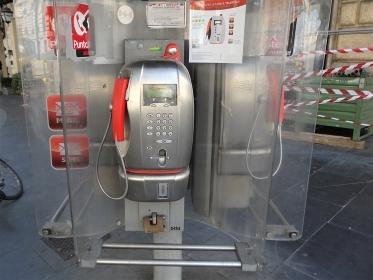 海外の公衆電話、イタリア・ローマ