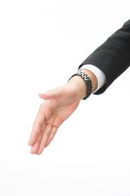 ビジネスマン 握手 手元