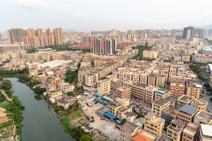 中国の町並み