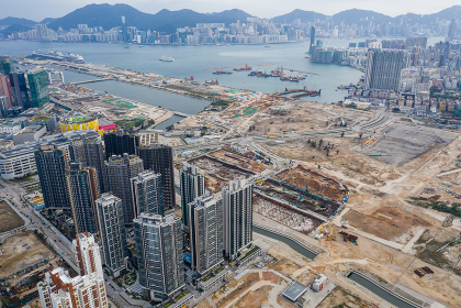 Kai Tak, Hong Kong 16 March 2019: Hong Kong kai tak development district