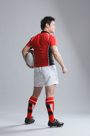 日本人のラグビー選手