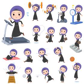 Arab women_exercise